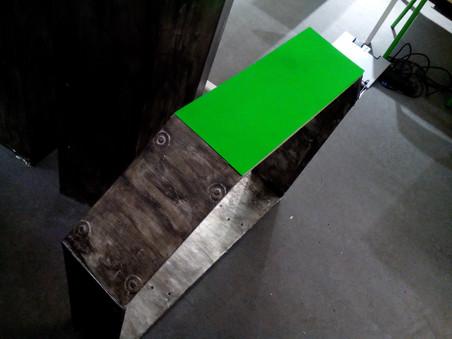 Green sceen for YANA's pod