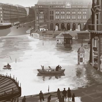 Daily photostudy Flood in paris