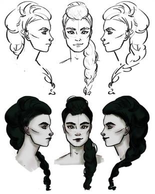 Lynn, character concept 1