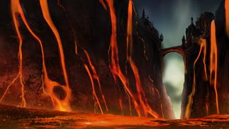 lava castle concept