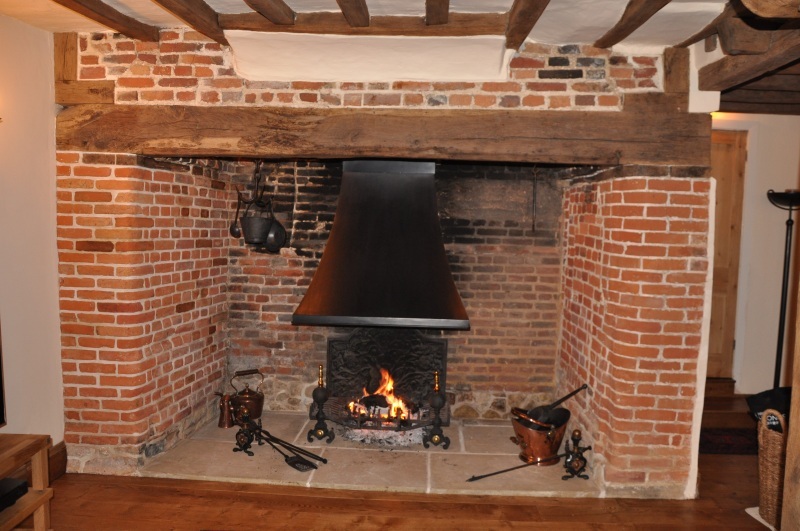 Inglenook fireplace