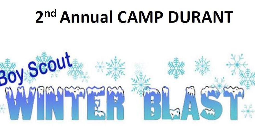 Winter Blast at Camp Durant