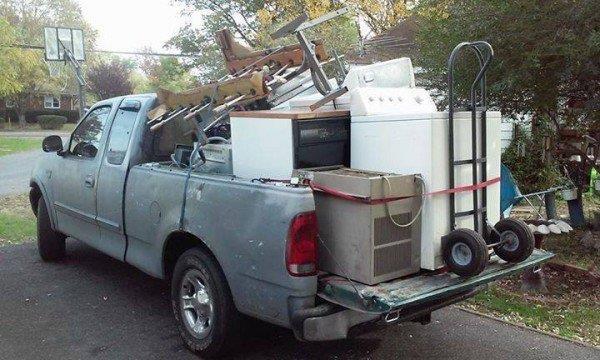 Transporte de basura