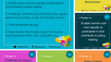 DivaManc Calls to Action: for a Greater Manchester that Works for Women
