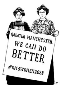 Launch of #GM4Women2028, Pankhurst-Fawcett Scorecard