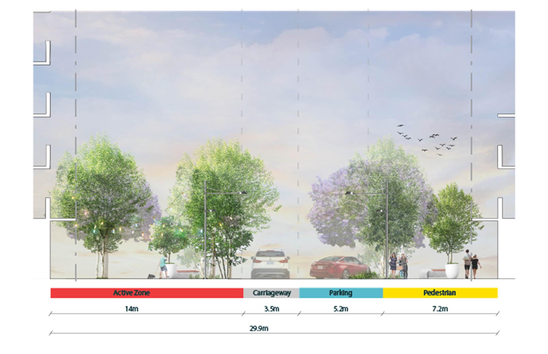 Progress Street Elevation