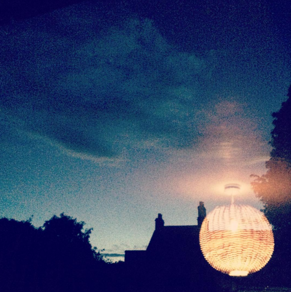 dusk in frome