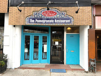 Today, 420 College Street is home to Pomegranate Restaurant. Photo credit: Erica Chi.