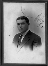 Abraham Walerstein, ca. 1910-1911. OJA, item 2530.