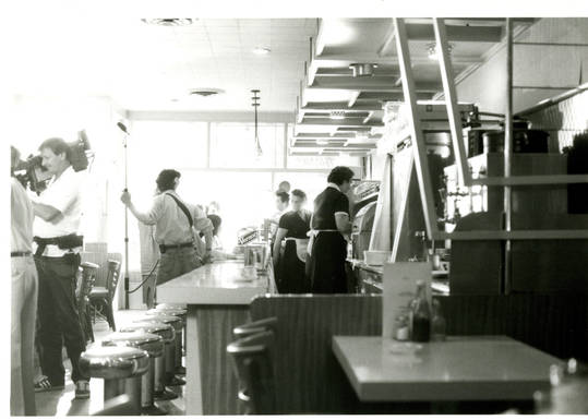 Interior of United Bakers Restaurant in 1986. OJA, accession 2004-5-53.