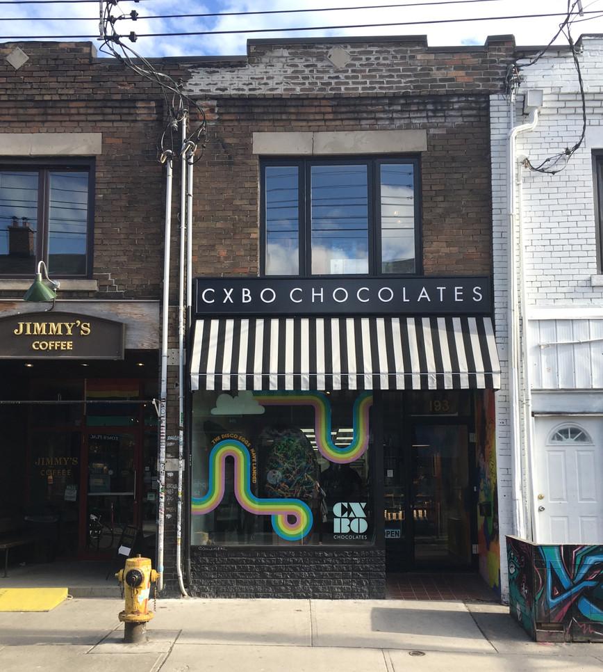 Today, 193 Baldwin Street is home to CXBO Chocolates. Photo credit: Evelyn Feldman.