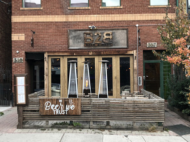 Today, 319 Augusta Avenue is home to BEER2BEER. Photo credit: Erica Chi.
