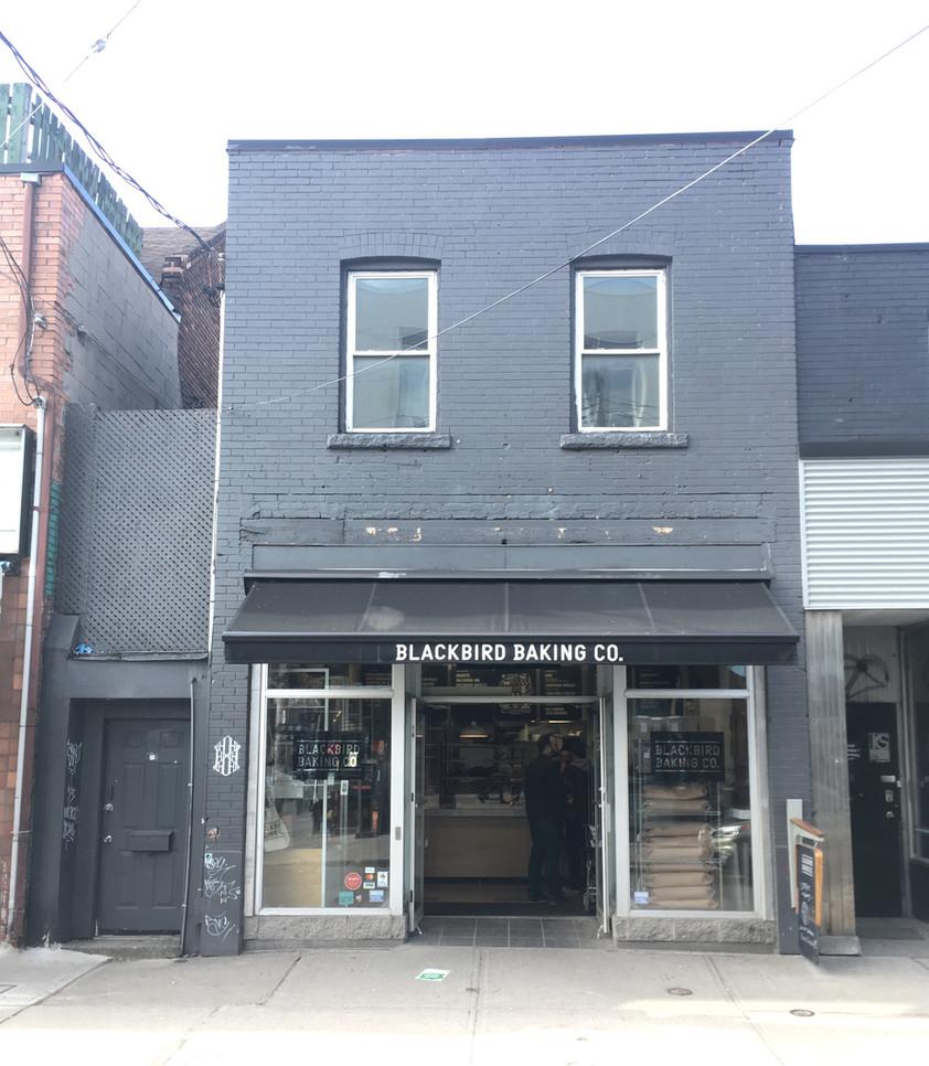 Today, 172 Baldwin Street is home to Blackbird Baking Co. Photo credit: Evelyn Feldman.