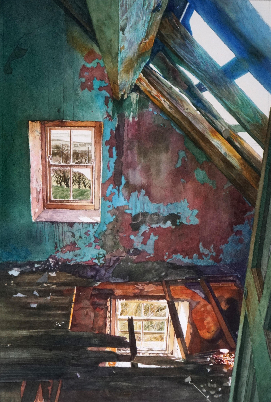 Abandoned house Antrim Coast