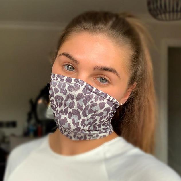 MMXX Zebra Print Mask