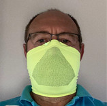 High-Vis Yellow Face Mask