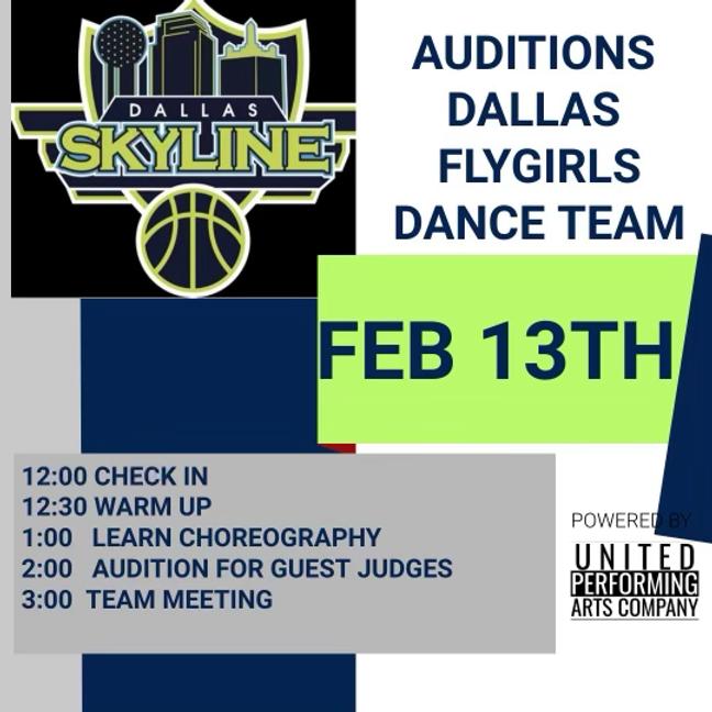 Dallas Flygirls Auditions