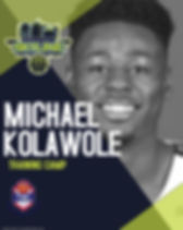 MICHAEL KOLAWOLE - Made with PosterMyWal
