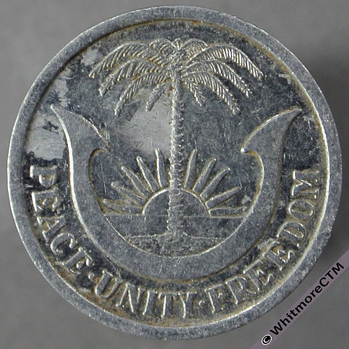 1969 Republic of Biafra 3 Pence obv - Aluminium