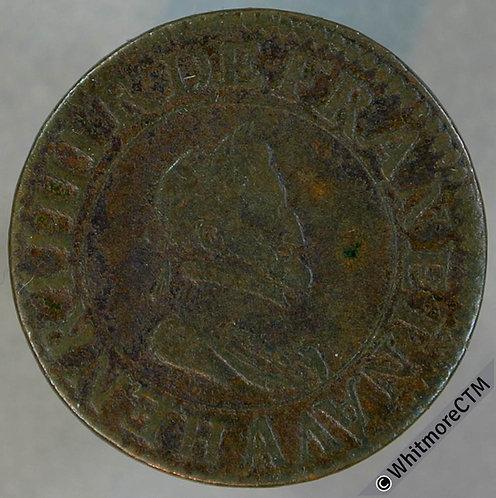 1604 Henri IV Double Tournois 1604A