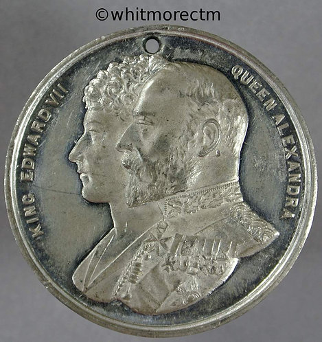 Lincoln 1902 Coronation Medal Edward VII WE4150D 39mm