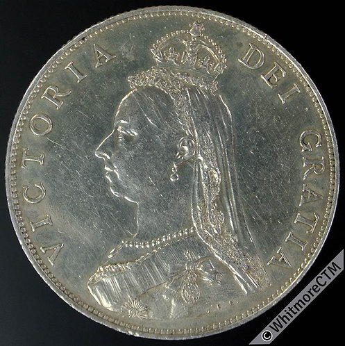 1887 British Victoria Jubilee Head Florin 2/- Proof