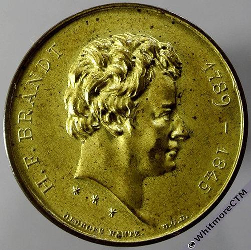 1894 Switzerland Neuchatel H.F.Brandt Numismatic Society Medal obv 27mm By Hantz