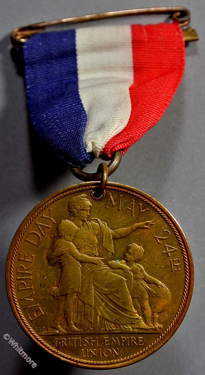 1929 Empire Day Medal 33mm Edward as Prince of Wales GCM125b