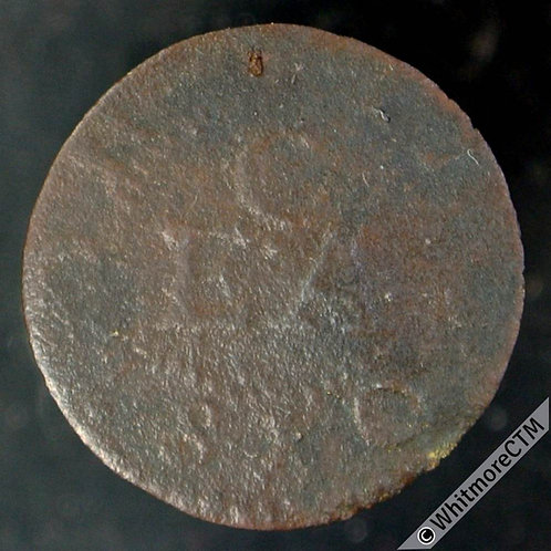 17th Century Token Royston (Herts) 161 Edward Crouch. Stick of candles