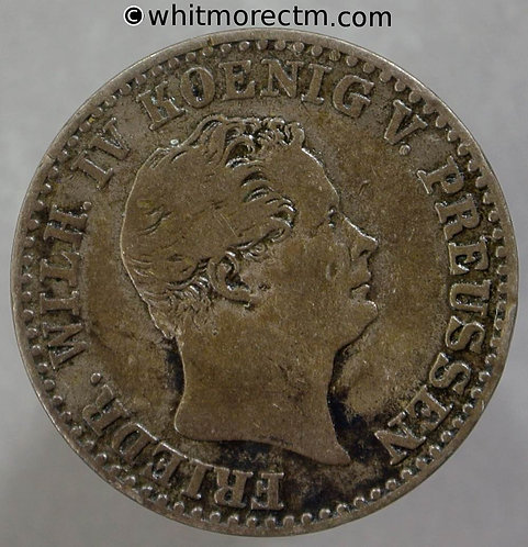 1843 Germany Prussia 2½ Silbergroschen coin - C147