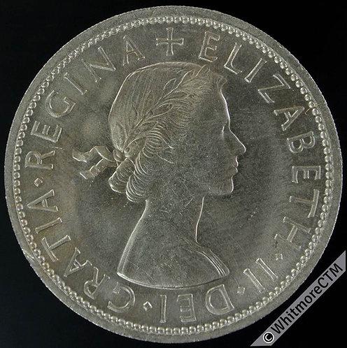 1958 Half-Crown Elizabeth II