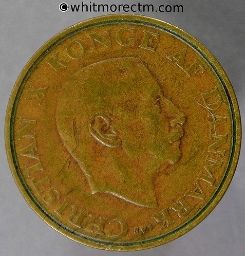 1943 Denmark Y54 Krone coin - Rare