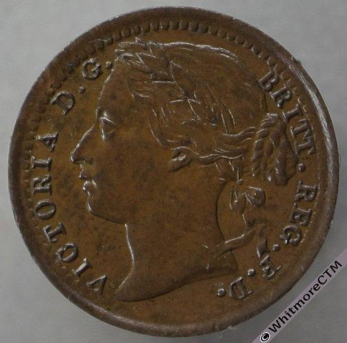 1878 British Third Farthing  - Victoria