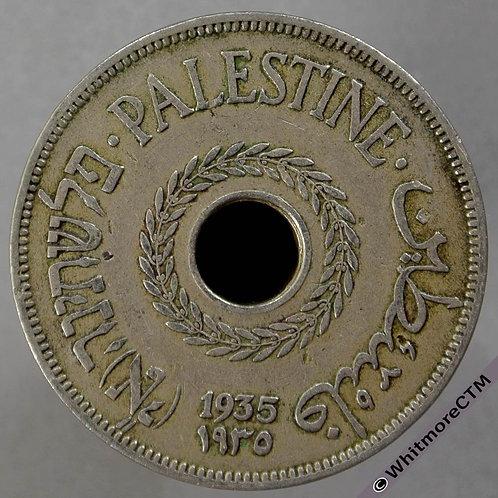 1935 Palestine 20 Mils - Y5