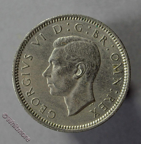 1949 British Sixpence George VI