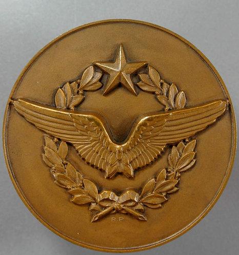 1950 Royal Air Force (RAF) Fencing Medallion 59mm Armee de l'air escrime
