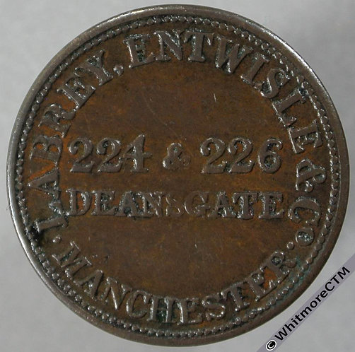 Unofficial Farthing Manchester 3410 Labrey Entwisle & Co Tea & Coffee