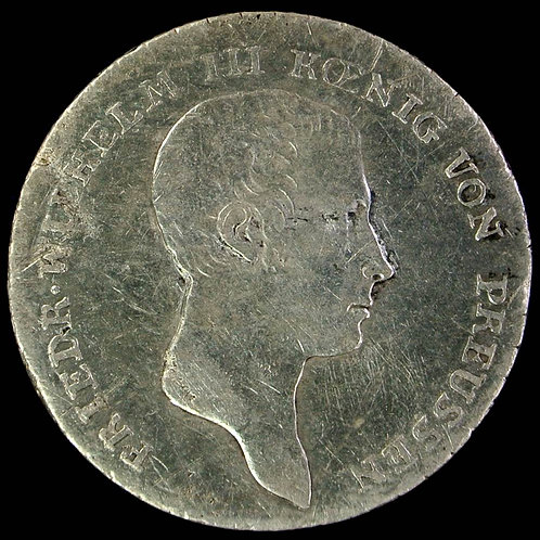 1812 Germany Prussia 1/6 Thaler 1812A C105