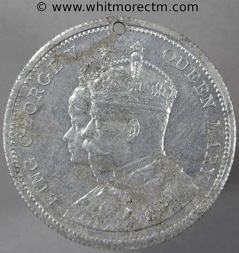 Montgomery 1911 George V Coronation Medal 39mm WE5135S Aluminium. Pierced