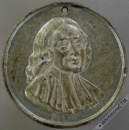 1900 Wesleyan Methodist twentieth century fund Medal 41mm By H.B.Sale. W.M