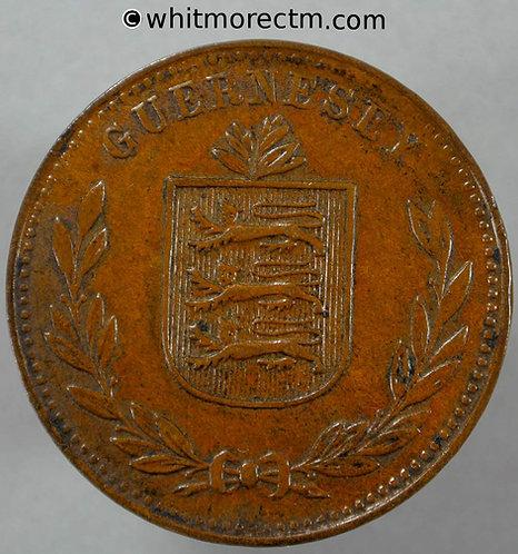 1934 Guernsey 8 Doubles 1934H E91