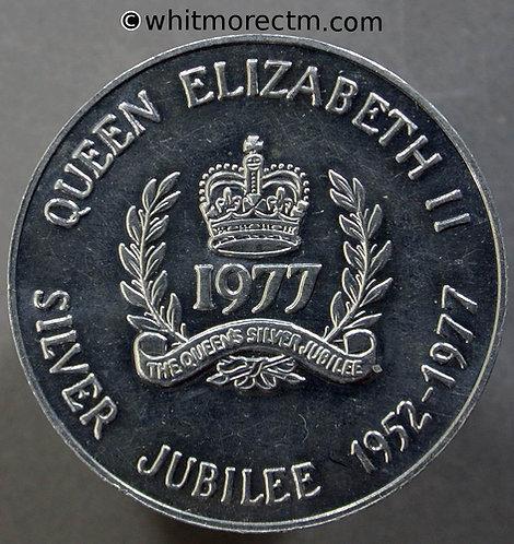 1977 Canada Ontario Queen Elizabeth II Silver Jubilee Medal 32mm WE8902A Alum