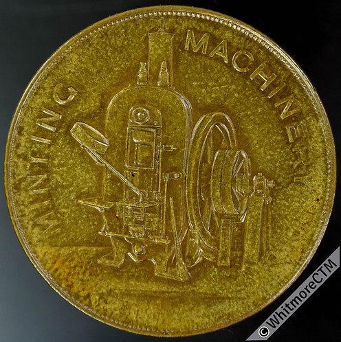 Mints Token Birmingham 38mm Taylor & Challen Engineers Minting Machinery. Bronze
