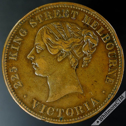 Australia Melbourne Penny Fenwick Bros Flagstaff. Victoria YH. Rare - Edge knock