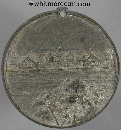 Skerton Lancashire 1891 Opening of the British School Medal 38mm not in Taylor
