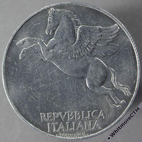 1948 Italy 10 Lire obv