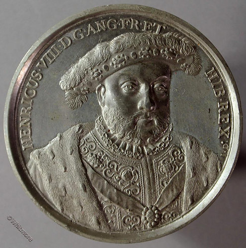Kings of England Series Medal 41mm Henry VIII B1437-20 By Thomason after Dassier