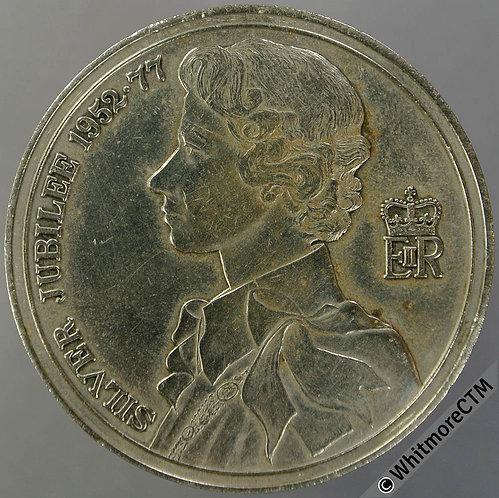 Southampton 1977 Silver Jubilee Medal 38mm Cupronickel