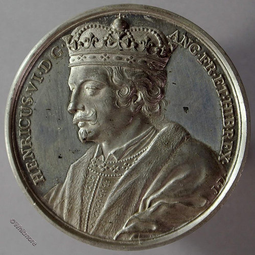 Kings of England Series Medal 41mm Henry VI B1437-15 Thomason after Dassier