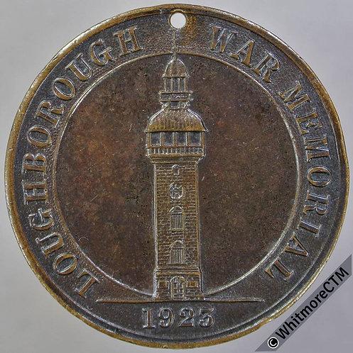 1923 Loughborough War Memorial Medal 32mm by Latimer - Bronze